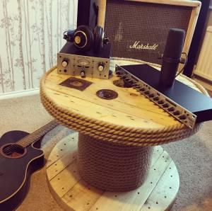 New studio gear for wedding band